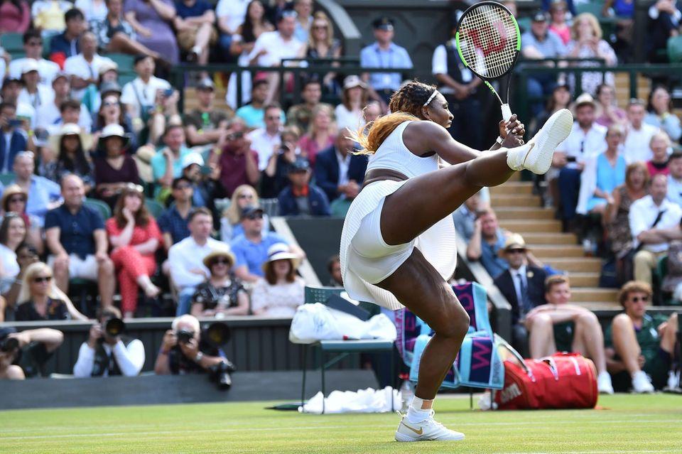 Serena Williams beim Grand-Slam-Turnier, 2019.