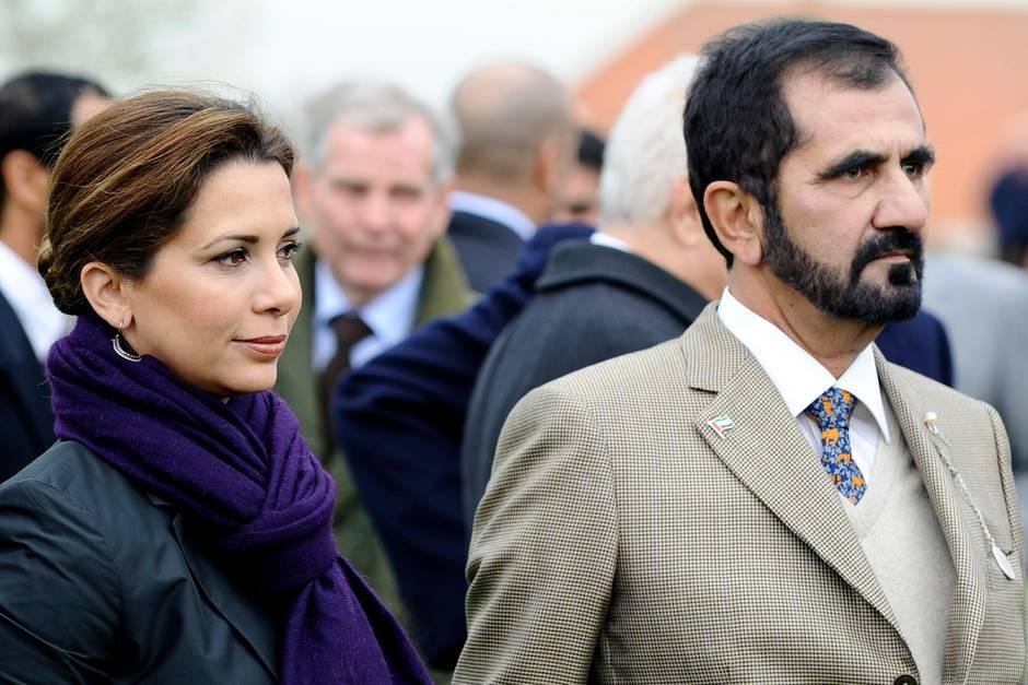 Prinzessin Haya bint al-Hussein undMohammed bin Raschid Al Maktoum