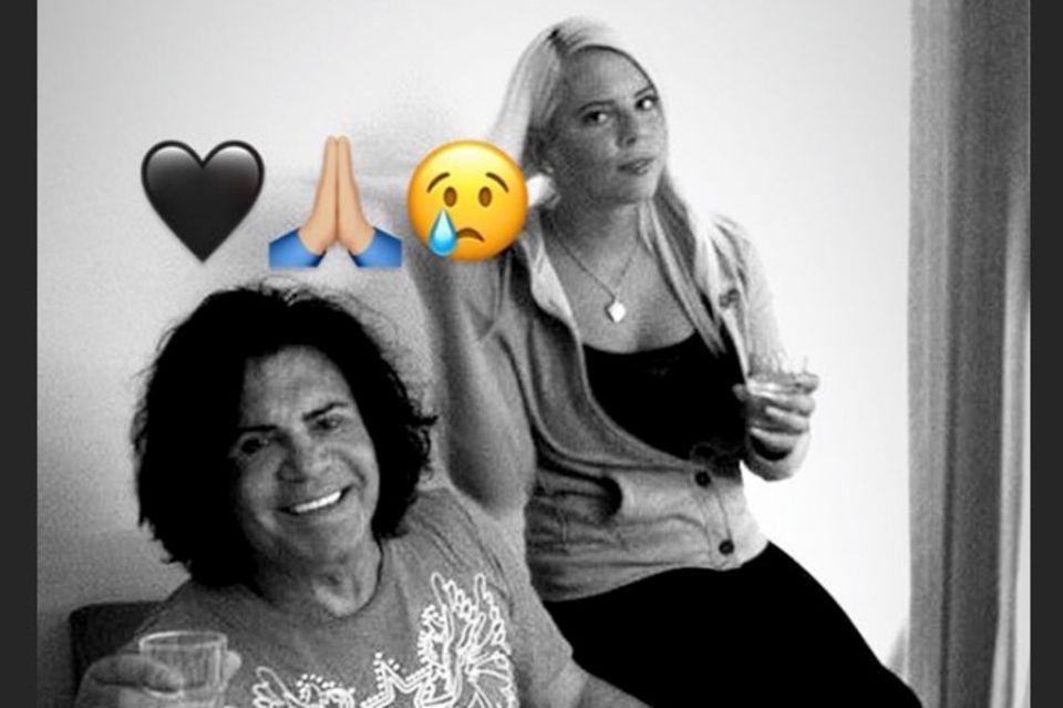 Jenny Frankhauser trauert um Costa Cordalis