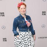 Enie van de Meiklokjes freut sich schon auf die Show von Lena Hoschek.