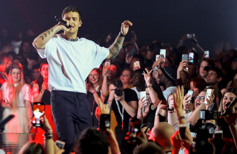 Liam Payne sorgt mit seiner Performance für Begeisterung.