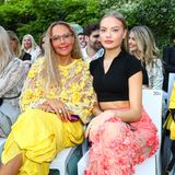 Front-Row-Fashionistas bei Marcel Ostertag:Cheyenne und Natascha Ochsenknecht