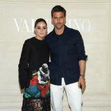 Olivia Palermo und Johannes Huebl sorgen ebenfalls für #couplegoals.