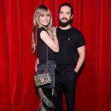 Zu der Präsentation von Christian Louboutin kommen Heidi Klum und Tom Kaulitz im modischen Doppelpack.