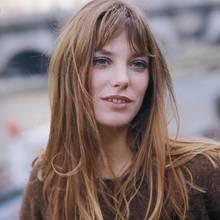 Eine Aufnahme von Jane Birkin aus dem Jahr 1960.