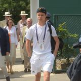 2. Juli 2019  Ein großer Tennisfan: David und Victoria Beckhams Sohn Romeo.