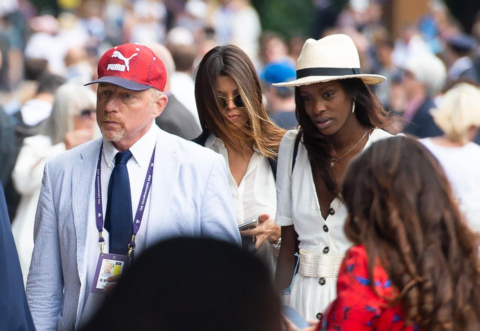 3. Juli 2019  Kein Wimbledon-Turnier ohne den ehemaligen Tennis-StarBoris Becker. An seiner Seite wird Model Layla Powell gesichtet.