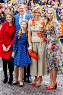 Die niederländische Königsfamilie mit Willem-Alexander, Maxima und den drei Schwestern Amalia, Alexia und Arianebraucht viel Platz, und den haben sie Anfang des Jahres mit ihrem Umzug in den Palast Huis Ten Bosch auch bekommen.