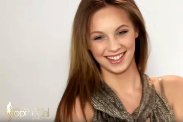 In 2012 nimmt Kasia Lenhardt an Germany's next Topmodel teil und ist damals das Nesthäkchen.