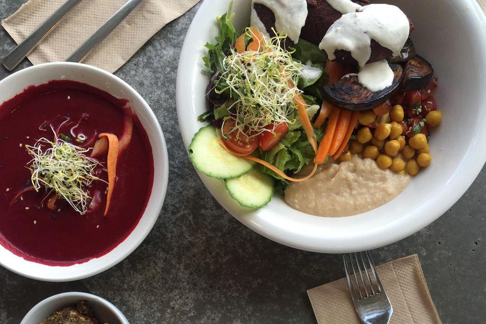 Annas Lunch istsättigend &vitalisierend