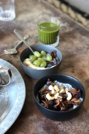 Morgens gibt es Kraft-Food für Körper & Geist
