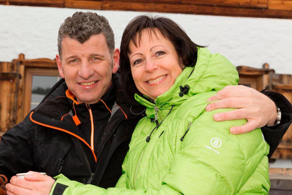 Seit mehr als 30 Jahren ein Paar: Semino Rossi und seine Gabi.