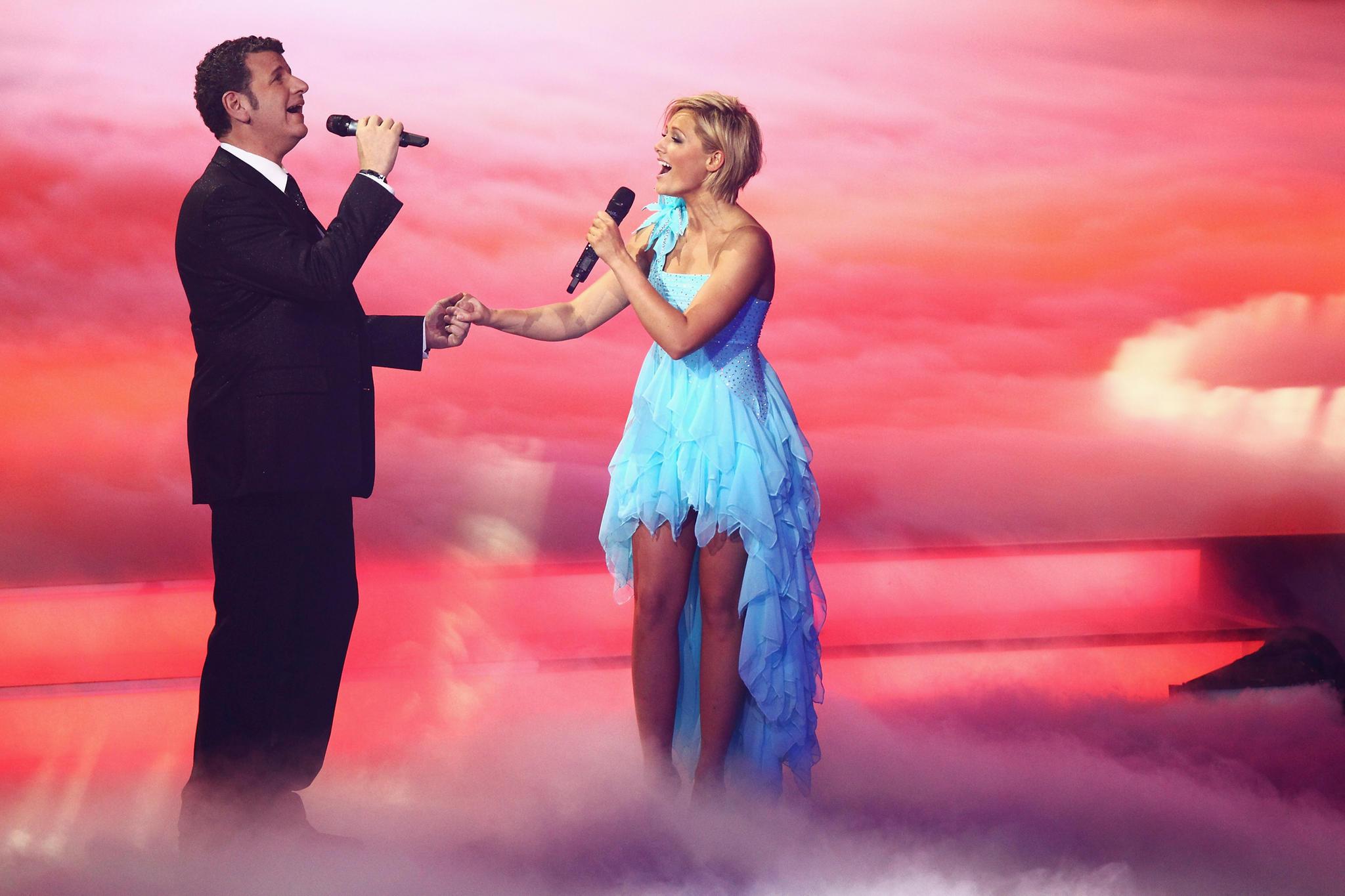 Prominente Duett-Partnerin: 2011 trat Semino Rossi mit Helene Fischer in ihrer Show auf.