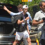Die Laune von Beckham-Spross Romeo bessert sich hoffentlich später auf den Zuschauerrängen.