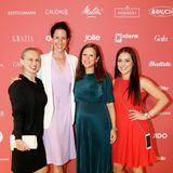 Hannah Kessler (Swatch), Marianne Radel (Swatch), Michelle Kolakovic (Swatch) und ...