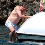 Der Einstieg zurück ins Boot gestaltet sich für Hugh Grant allerdings gar nicht so leicht.