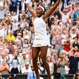 """Und hier ist das """"Wimbledon-Wunderkind"""": Cori """"Coco"""" Gauff"""