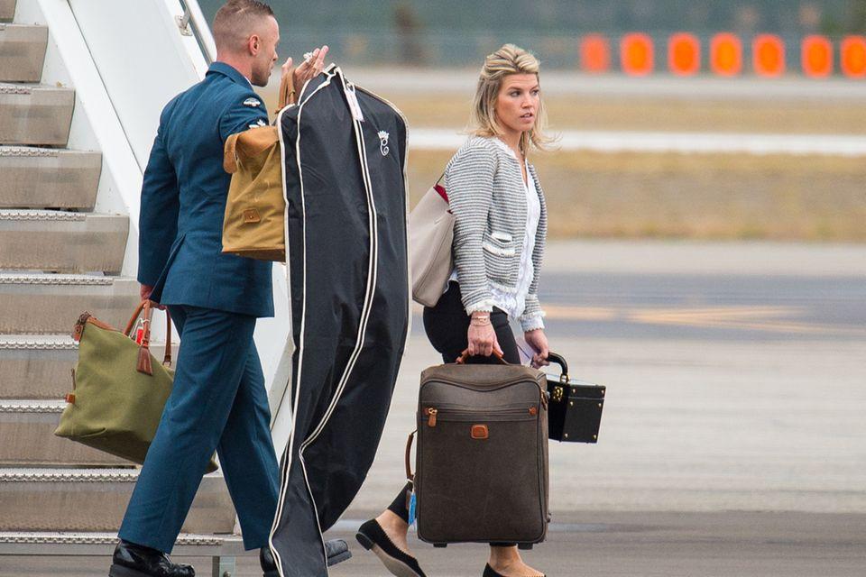 2016 begleitete Natasha Archer Herzogin Catherine und Prinz William nach Kanada