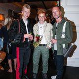 Jeremy Möller, Erik Scholz und Marcus Luft