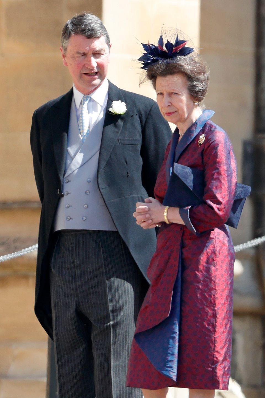 Sir Tim Laurence und PrinzessinAnne