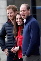 Prinz Harry, Herzogin Catherine und Prinz William