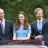 Prinz William, Herzogin Catherine und Prinz Harry