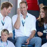 Prinz Harry, Prinz William und Herzogin Catherine