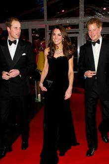 Prinz William, Herzogin Catherine und Prinz Harry