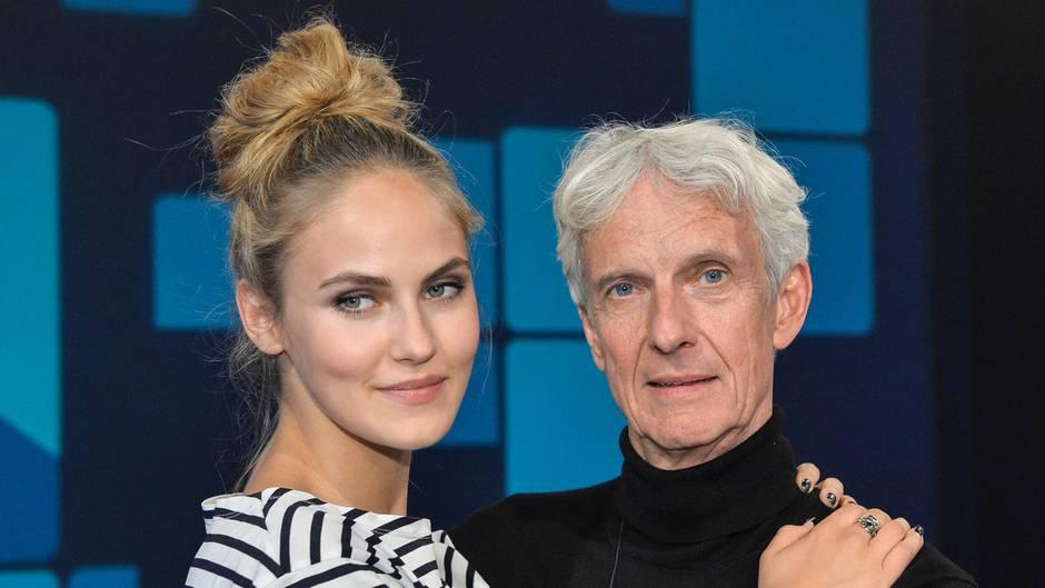 Elena Carrière und Mathieu Carrière