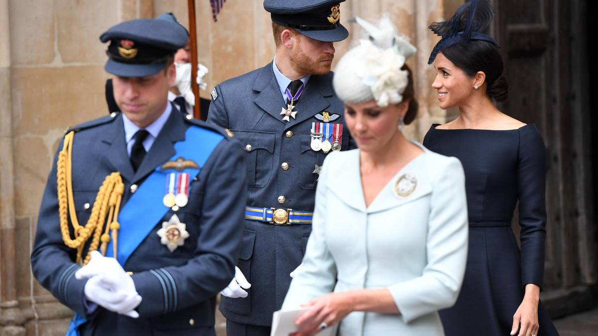 Harry, Meghan, Kate + William: Diese Chance haben sie verpasst