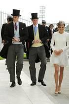Prinz William, Prinz Harry und Herzogin Catherine