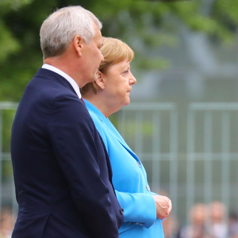 Antti Rinne, Angela Merkel