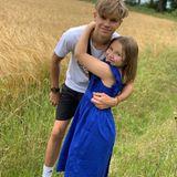 10. Juli 2019  Happy Birthday, Harper! Mit diesem süßen Schnappschuss gratuliert Romeo Beckham seiner kleinen Schwester Harper, die heute ihren achten Geburtstag feiert.