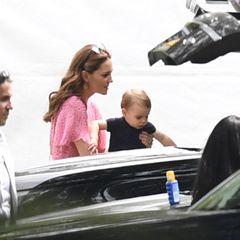 Herzogin Catherine und Prinz Louis