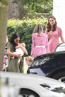 Herzogin Meghan, Archie undHerzogin Catherine.