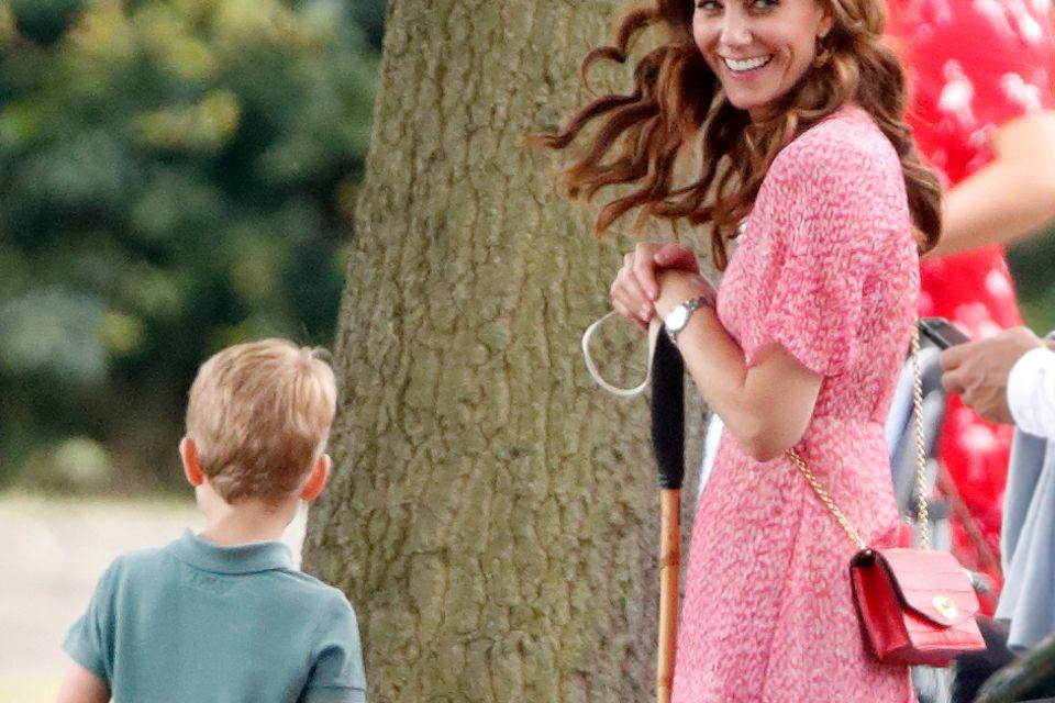 Prinz George und Herzogin Catherine