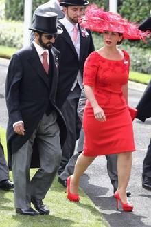 Mohammed bin Raschid Al Maktoum und Prinzessin Haya in Ascot