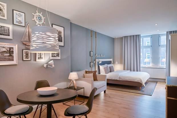 Mitten im Herzen der Hansestadt Hamburg findet sich das Hapimag Resort im typisch hanseatischen Chic.