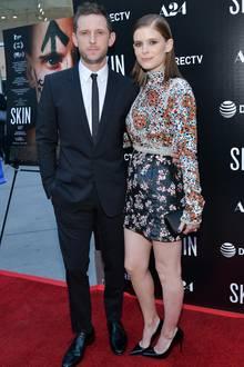 Kate Mara begleitet ihren Liebsten, Jamie Bell, zu der Premiere von Skin und sieht dabei einfach fantastisch aus.