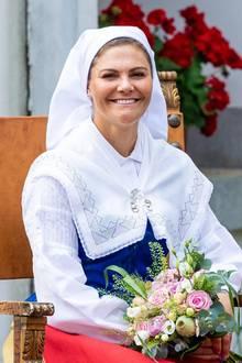 11. Juli 2019  Die Prinzessin scheint sich genauso über die Auszeichnung zu freuen wie die Inselbewohnerselbst.