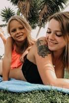 """13. Juli 2019  Ex-""""Berlin Tag & Nacht""""-Darstellerin Anne Wünsche beglückwünscht ihre älteste Tochter, Miley, mit diesem süßen Foto auf Instagram. Der Spross ist sechs Jahre alt geworden und hat laut Annes Posting schon einen ganz eigenen Kopf."""