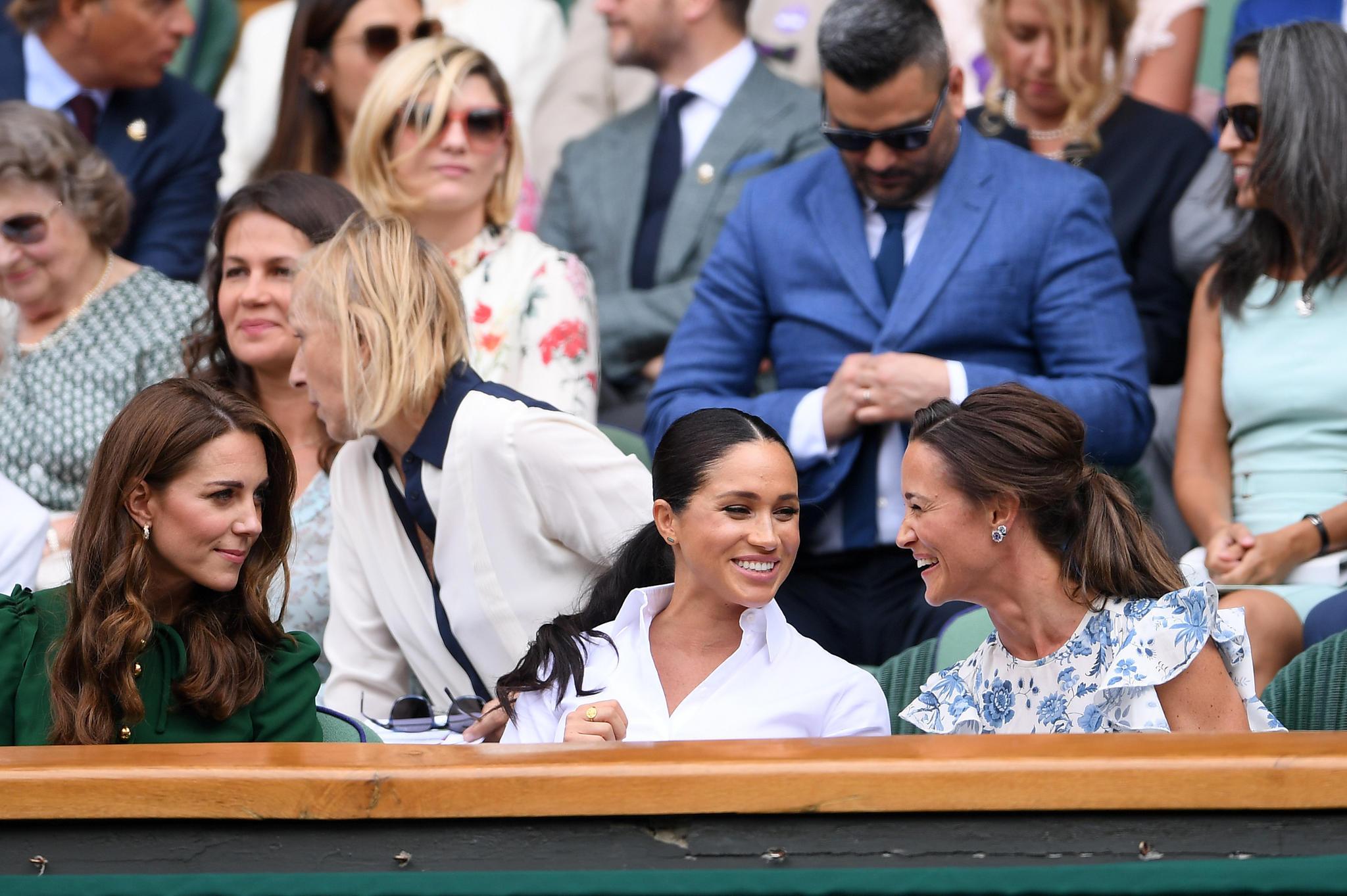 Catherine, Meghan und Pippa beim Finale in Wimbledon