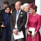 12. Oktober 2018  Wedding-Time bei den Windsors. Prinzessin Eugenie heiratet ihren Jack Brooksbank. Klar, dass da auch Meghan und Kate unter den Gästen sind. Noch ist es nicht bestätigt, aber viele munkeln schon: Ob Meghan wohl schwanger ist?