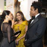 Treffen der Mega-Stars: Herzogin Meghan mit Beyoncé und deren Ehemann Jay-Z.