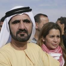 ScheichMohammed bin Rashid al-Maktoum und Princess Haya Bint Al-Hussein