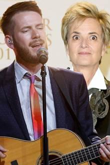 Revolverheld-Sänger Johannes Strate und Fürstin Gloria von Thurn und Taxis