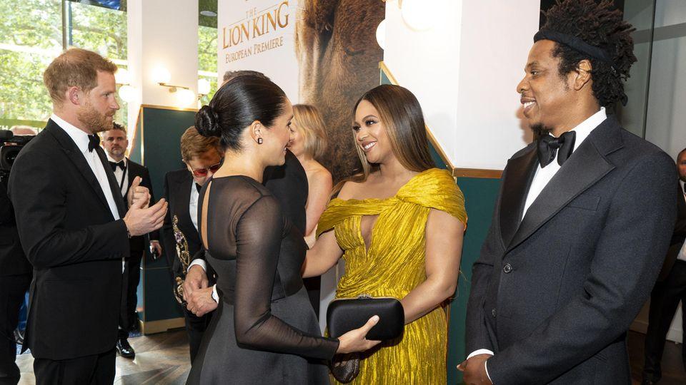 Herzogin Meghan trifft US-Star Beyonce