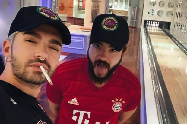 "Bill und Tom Kaulitz steigen in Las Vegas im ""Hard Rock Hotel & Casino"" ab."