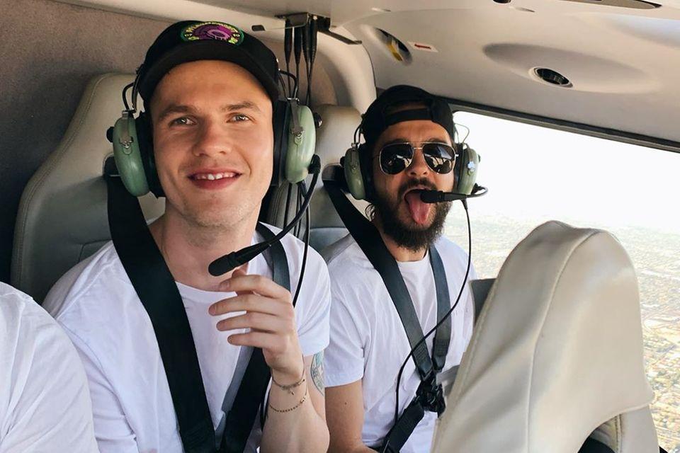 Auch ein Rundflug mit dem Helikopter steht auf dem Programm.