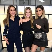 Melissa Khalaj, Nadine Klein und Senna Gammour